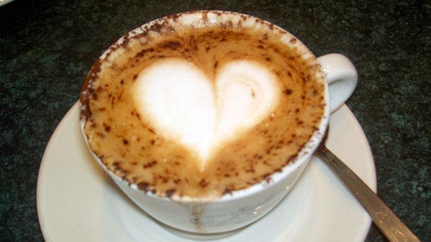 Alla hjärtans dag-kaffe på sängen